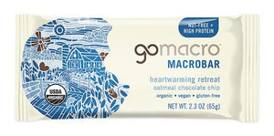 GoMacro Bar Oatmeal Chocolate Chip (65g)