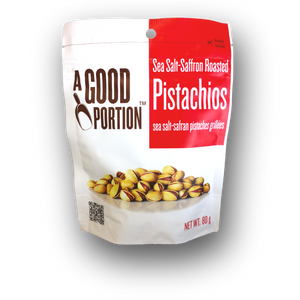 A Good Portion Sea Salt & Saffron Roasted Pistachios 250g