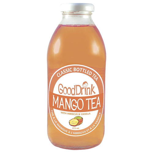 GoodDrink Mango Tea w/ Hibiscus & Vanilla (473ml)