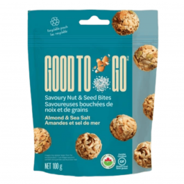 Good to Go Nut & Seed Bites Almond & Sea Salt (100g)