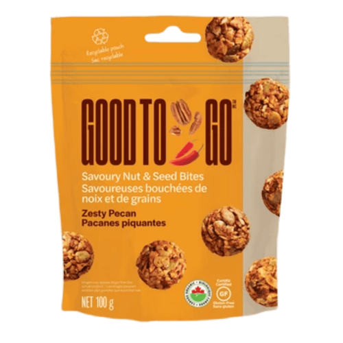 Good to Go Nut & Seed Bites Zesty Pecan (100g)
