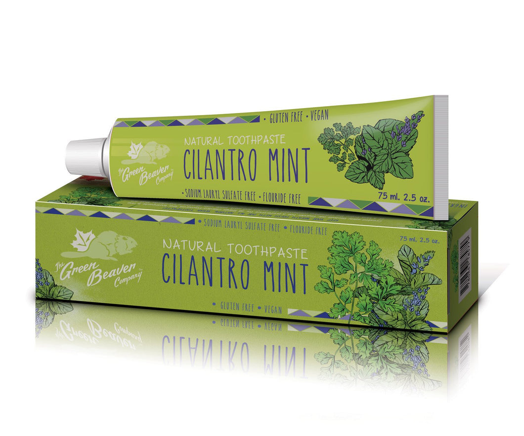 Green Beaver Cilantro Mint Toothpaste (75ml)