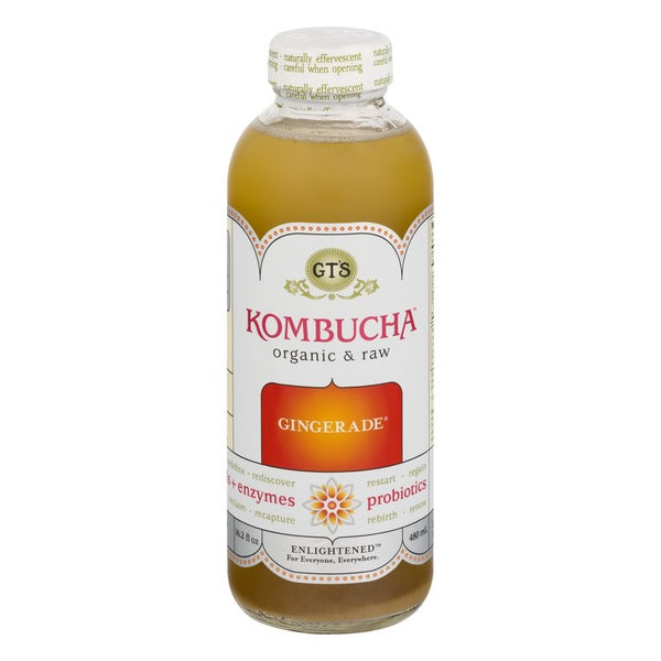 GT's Organic Gingerade Kombucha (480ml)