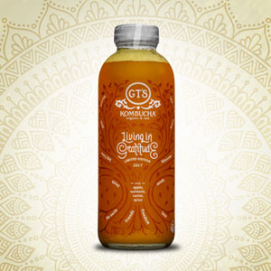 GT's Living in Gratitude Kombucha (480ml)