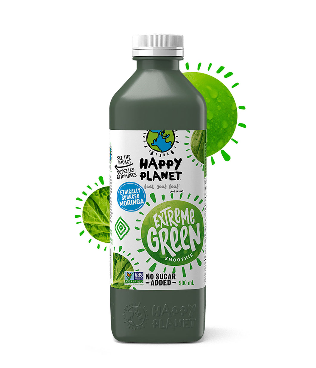 Happy Planet Extreme Green Smoothie (900ml)