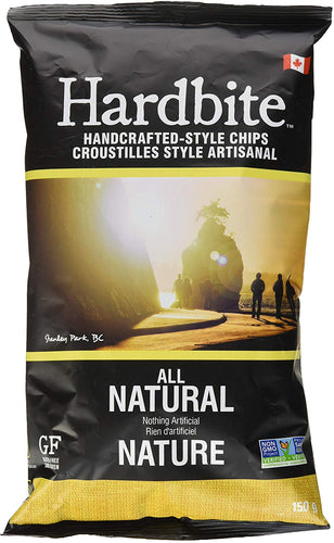 Hardbite All Natural Chips 150g