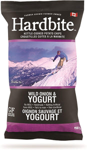 Hardbite Wild Onion & Yogurt Chips 150g