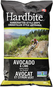 Hardbite Avocado & Lime Chips 150g