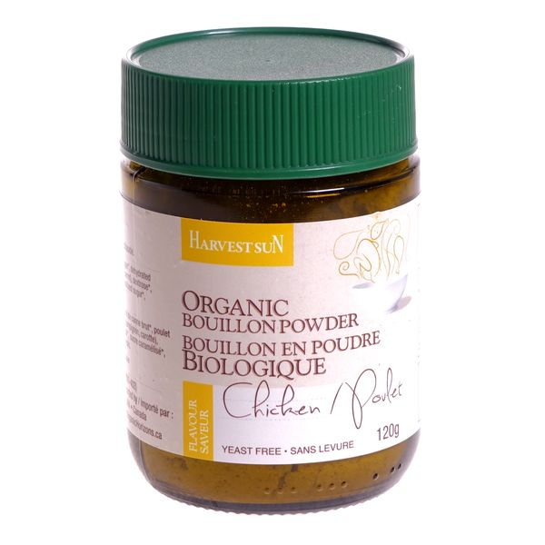 Harvest Sun Organic Chicken Bouillon Powder (120g)