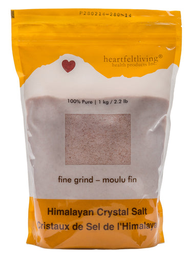 Heartfelt Living Himalayan Crystal Salt Fine (500g)