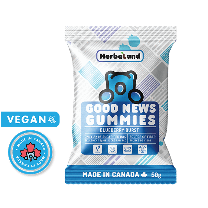 Herbaland Good News Gummies Blueberry Burst (50g)