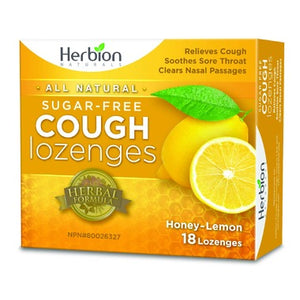 Herbion Honey Lemon Cough Lozenges (18 lozenges)