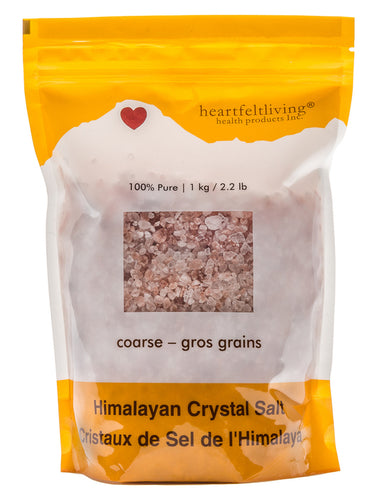 Heartfelt Living Himalayan Crystal Salt Coarse (500g)