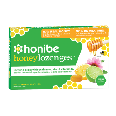 Honibe Honey Lozenges Immune Boost (10 Lozenges)