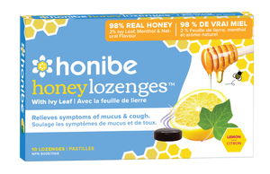 Honibe Honey Lozenges w/ Ivy Leaf (10 Lozenges)