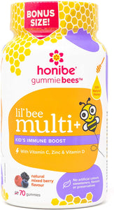Honibe Kid's Multi + Immune Boost (70 Gummies)