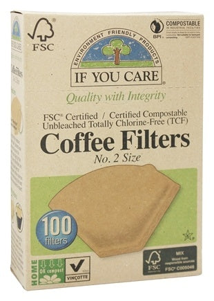 If You Care Coffee Filters (No. 2 Size)