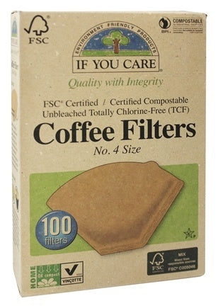 If You Care Coffee Filters (No. 4 Size)