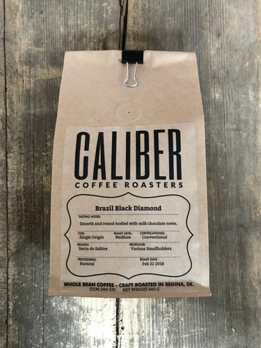 Caliber Coffee Brazil Black Diamond 340g
