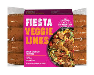 Big Mountain Foods Vegan Fiesta Veggie Links (300g)