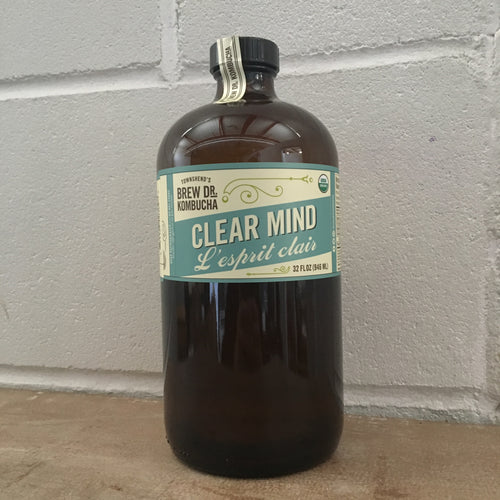Brew Dr. Clear Mind Kombucha 946ml