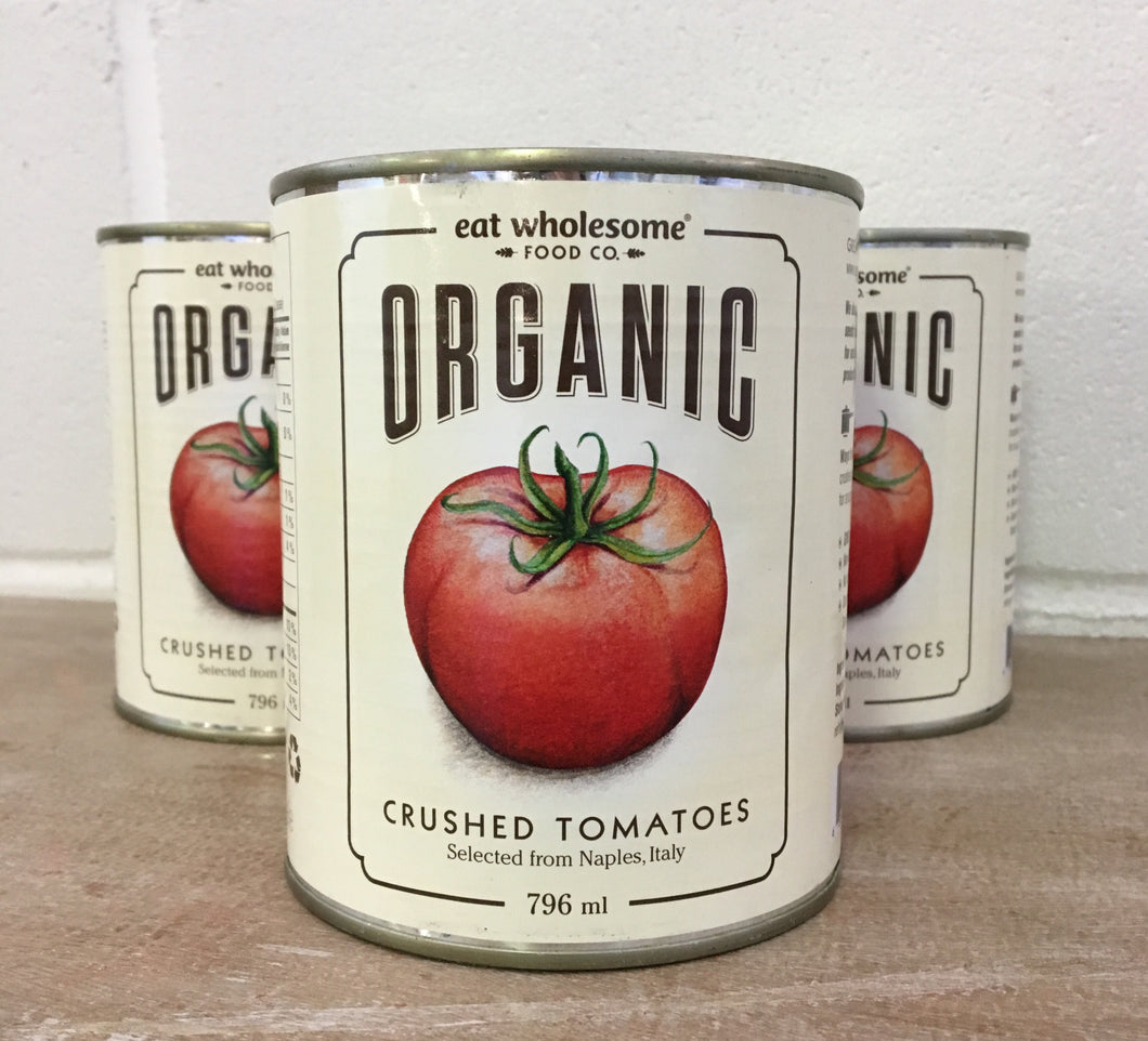 Eat Wholesome Food Co. Organic Crushed Tomatoes 796ml