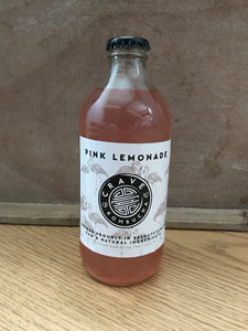 Crave Kombucha Pink Lemonade 355ml