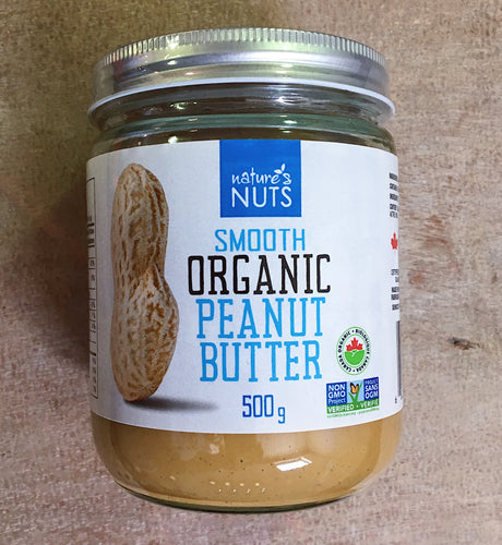 Nature's Nuts Smooth Peanut Butter (500g)