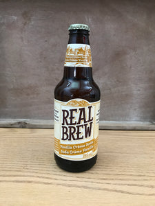Real Brew Vanilla Creme Soda (355ml)