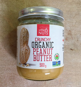 Nature's Nut Crunchy Peanut Butter (500g)