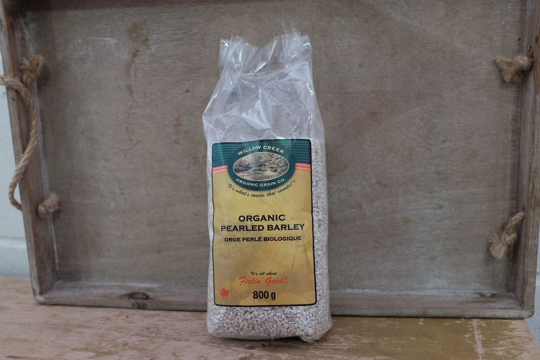 Willow Creek Pearled Barley (800g)