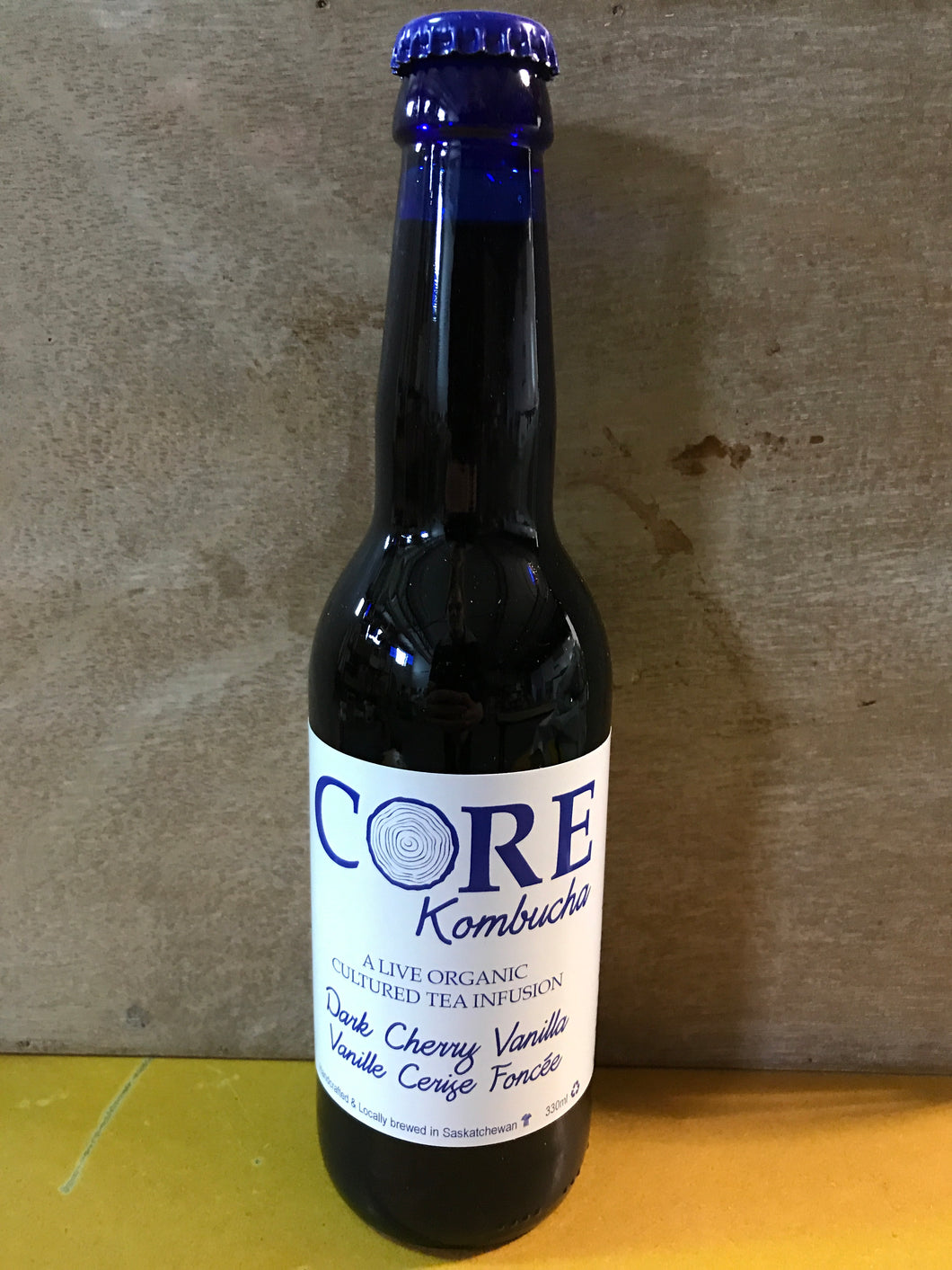 Core Kombucha Dark Cherry Vanilla (355ml)