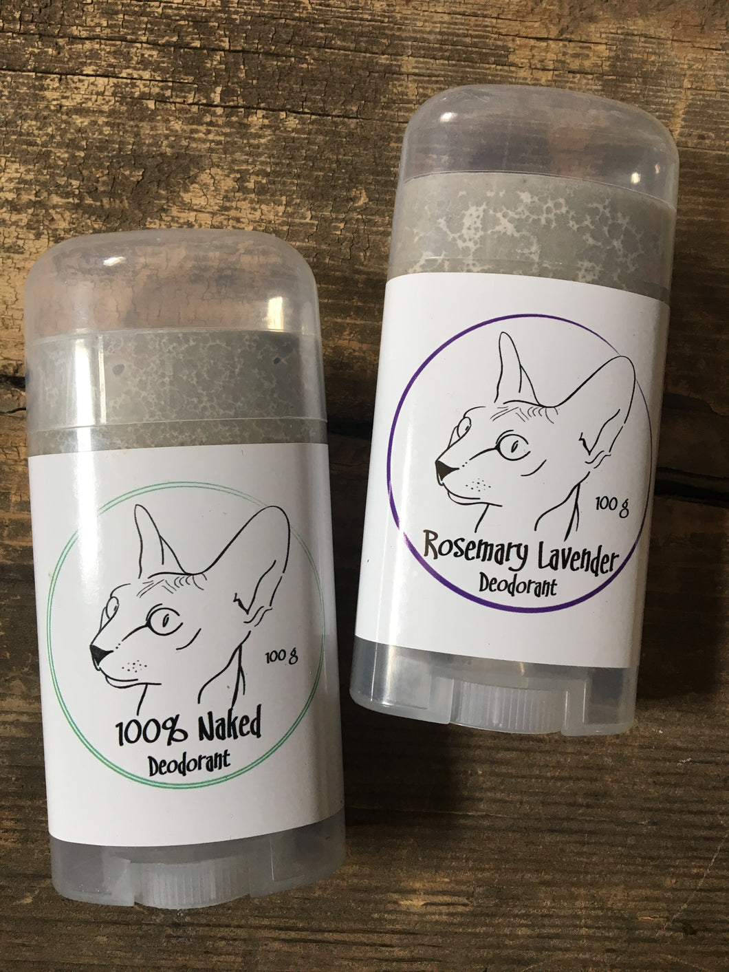 Naked Kitty 100% Naked Deodorant (100g)
