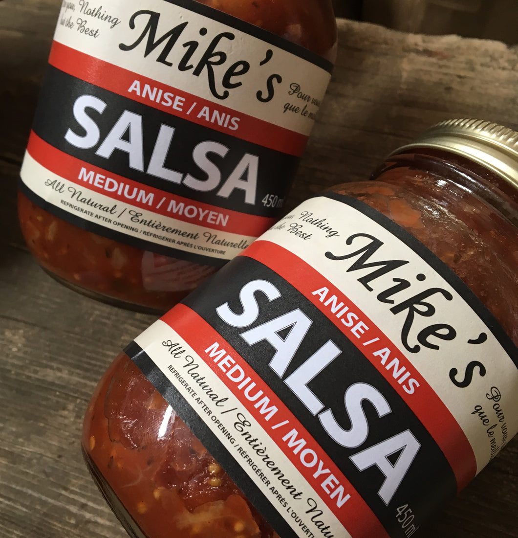 Mike's Medium Anise Salsa 450ml