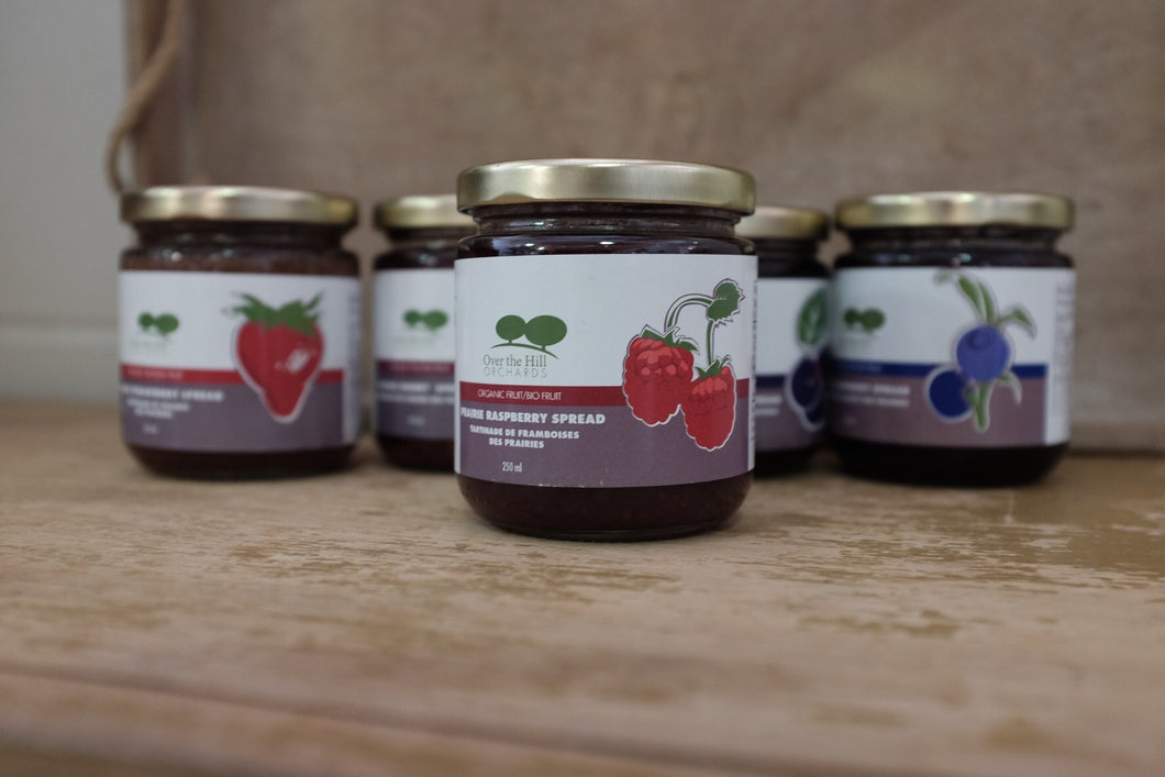 Over The Hill Orchards Prairie Raspberry Spread (250ml)