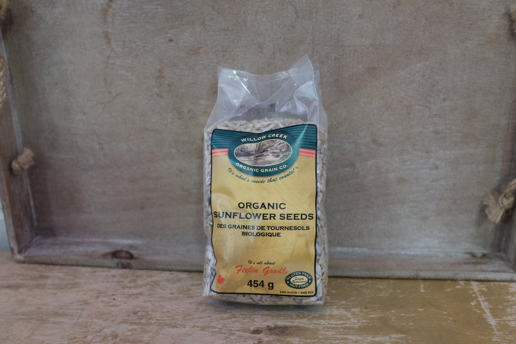Willow Creek Sunflower Seeds Raw (1lb)