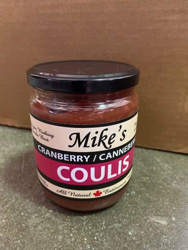 Mike's Cranberry Coulis (500ml)