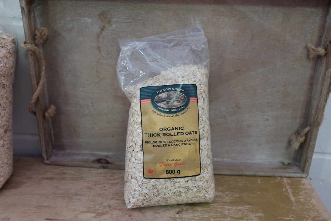 Willow Creek Thick Rolled Oats (800g)