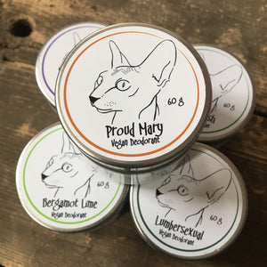 Naked Kitty Proud Mary Vegan Deodorant (60g)