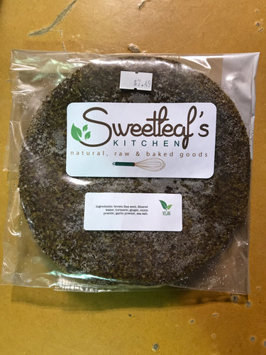 SweetLeaf`s Kitchen Large Flax Wraps (6 Pack)