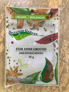 Splendor Garden Star Anise Ground (30g)