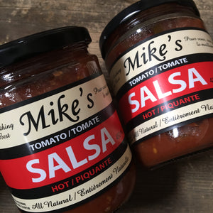 Mike's Hot Salsa (450ml)