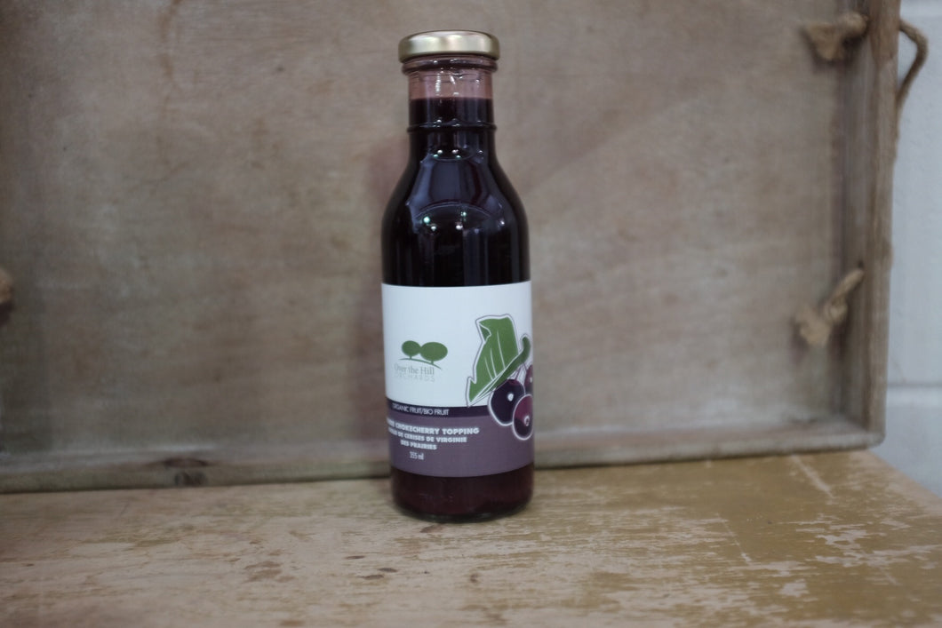 Over the Hill Orchards Prairie Chokecherry Topping (355ml)