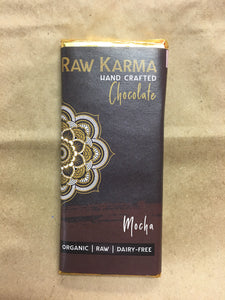 Raw Karma Organic Chocolate Mocha Bar (50g)