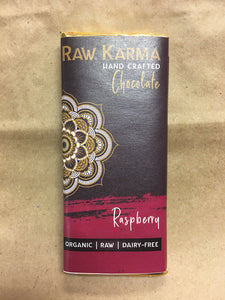 Raw Karma Organic Chocolate Raspberry Bar (50g)