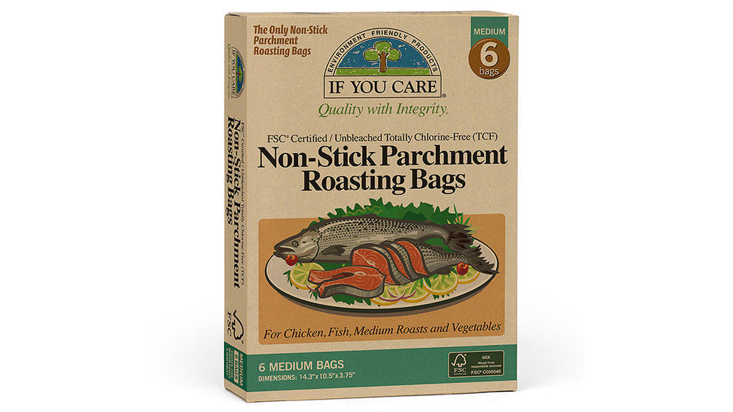If You Care Non-Stick Parchment Roasting Bags (Medium)