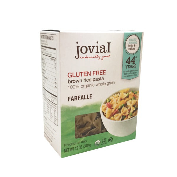 Jovial Brown Rice Farfalle Pasta (340g)