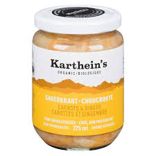 Karthein's Carrots & Ginger Sauerkraut (750ml)