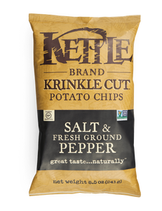Kettle Chips Salt & Pepper 220g