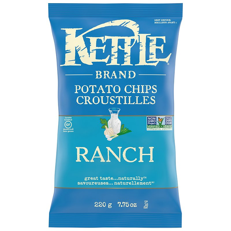 Kettle Chips Ranch 220g